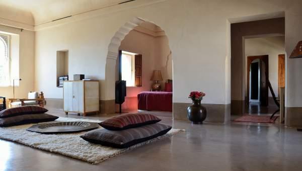 Location villa de prestige Marrakech Palmeraie