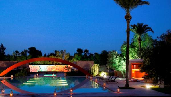 Location villa Contemporain Marrakech Palmeraie