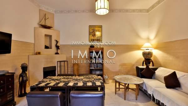 achat riad Marocain épuré Maison d'hôtes Marrakech moins de 10 minutes de la place Kasbah