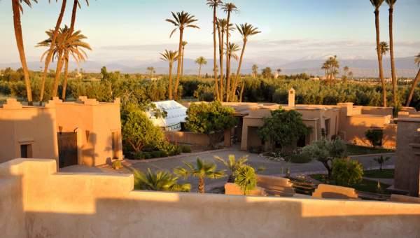 Vente maison Prestige Maison d'hôtes Marrakech Extérieur Route Fes
