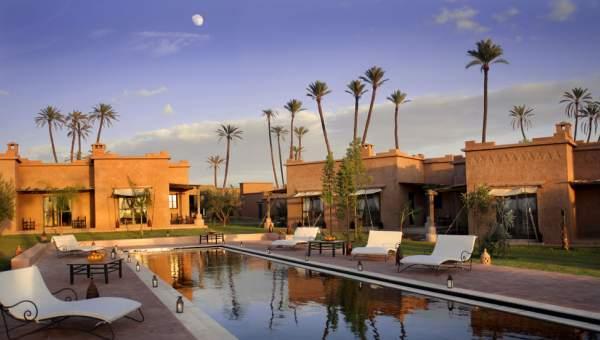 Villa à vendre luxe Maison d'hôtes Marrakech Extérieur Route Fes