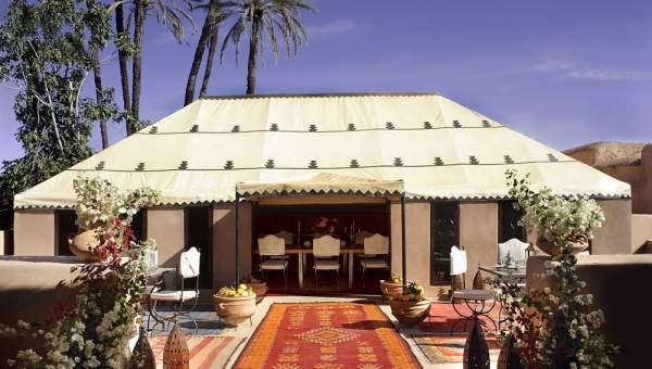 Maison à vendre haut de gamme Maison d'hôtes Marrakech Extérieur Route Fes
