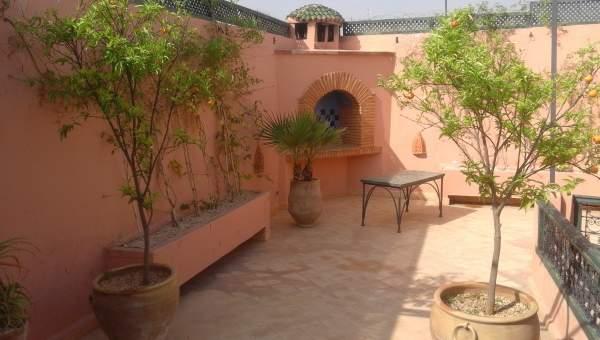 achat riad Marocain épuré Marrakech Place Jamaa El Fna Dabachi