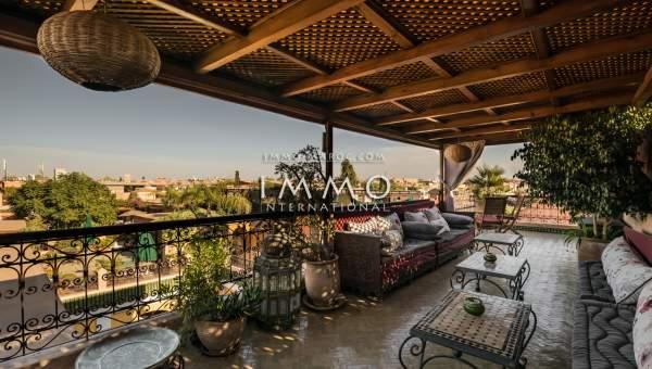 ryad Marocain épuré de prestige Maison d'hôtes Marrakech moins de 10 minutes de la place Mouassine