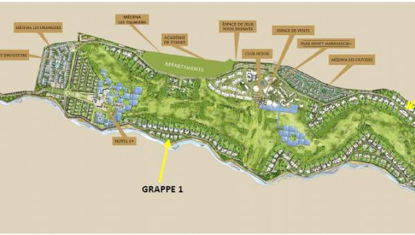achat terrain Terrain villa Marrakech Golfs Al Maaden