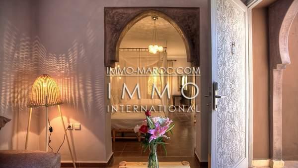 Vente maison Marocain épuré immobilier de luxe marrakech Marrakech Extérieur Route Amizmiz