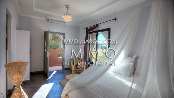 villa achat Marocain épuré Prestige Marrakech Extérieur Route Amizmiz