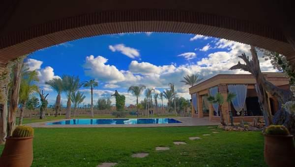 Vente maison demeure de prestige Marrakech Palmeraie