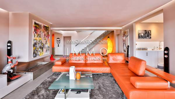 Vente appartement luxe contemporain Marrakech