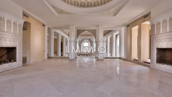 Villa à vendre Marocain épuré Marrakech Palmeraie