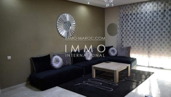 Appartement à louer Moderne Marrakech Centre ville