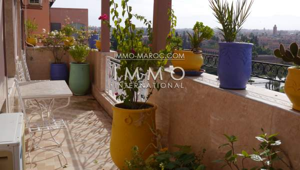 Appartement à louer Contemporain Marrakech