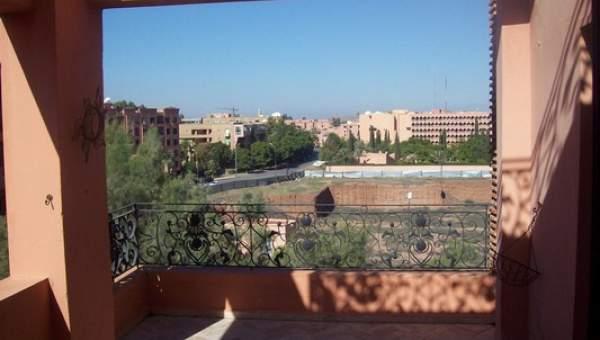 Location appartement Marocain épuré Marrakech Hivernage