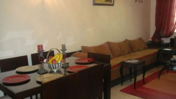 Tr s bel appartement bien meubl situ dans le prestigieux quartier de l 39 hivernage immomaroc - Imposition appartement meuble ...