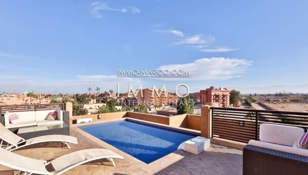 Location appartement haut de gamme Marrakech Hivernage