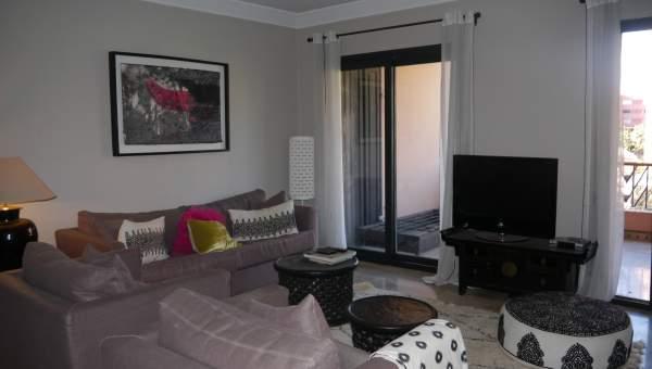 Appartement à louer Contemporain Marrakech Hivernage