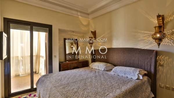 Location appartement Contemporain avec piscine à l'hivernage Marrakech