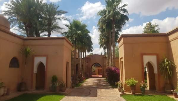 Location villa luxe Marrakech Extérieur
