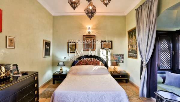 Location villa Marocain épuré Marrakech Palmeraie
