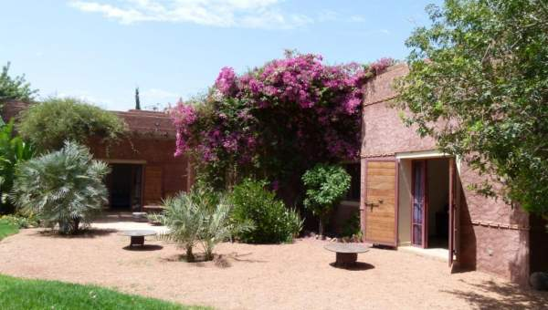 Location maison Contemporain Marrakech Extérieur Route Amizmiz