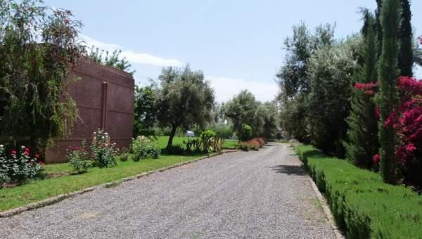 Villa à louer Moderne Marrakech Extérieur Route Amizmiz