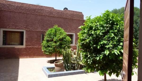 Maison à louer Contemporain Marrakech Extérieur Route Amizmiz