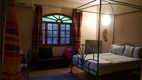 Location villa Marocain épuré Marrakech Extérieur Route Ourika