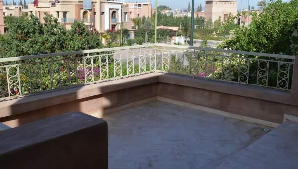 Maison à louer Marocain épuré Marrakech Extérieur Route Fes
