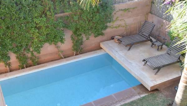 Location maison Marocain épuré Marrakech Extérieur Route Fes