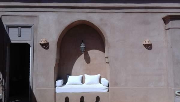 Location maison Marocain épuré Marrakech Extérieur Route Ouarzazate