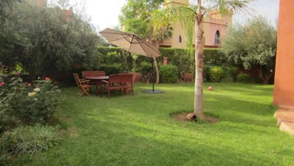 Location maison Marocain épuré Marrakech Extérieur Ecole américaine