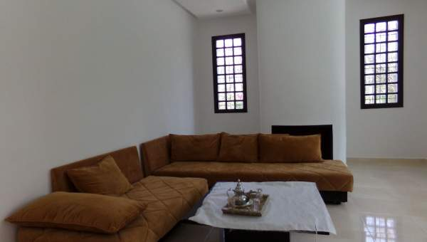 Villa à louer Contemporain Marrakech Extérieur Route Fes