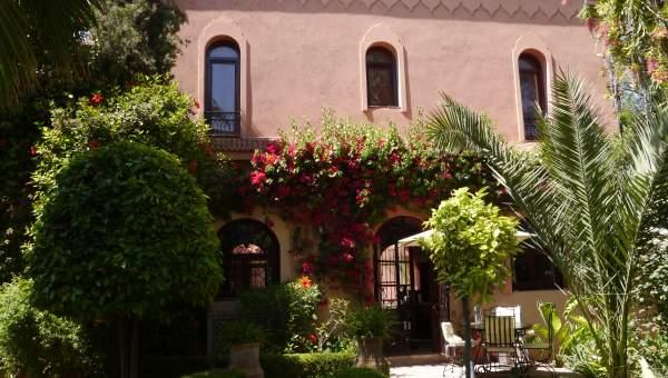 Villa à louer Marocain épuré Marrakech Palmeraie Ksar Chargagh