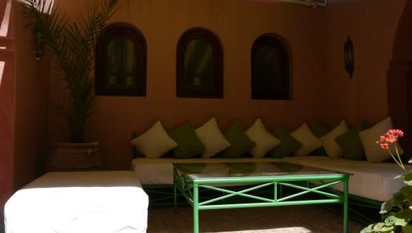 Maison à louer Marocain épuré Marrakech Palmeraie Ksar Chargagh