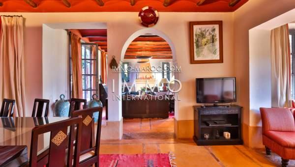 Vente maison Marocain épuré haut de gamme Marrakech Palmeraie
