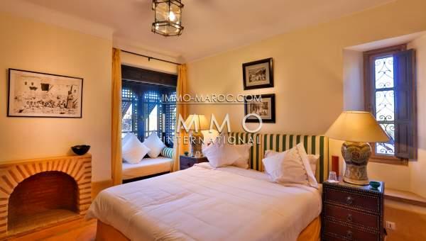 Villa à vendre Marocain épuré luxe Marrakech Palmeraie