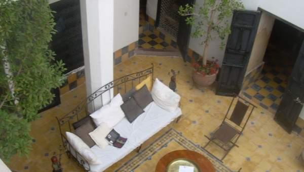 Riad à vendre Marrakech moins de 10 minutes de la place Riad Laarous