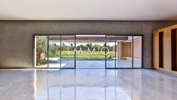 Vente villa contemporaine premiere ligne de golf amelkis