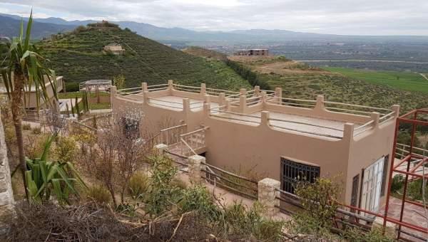 Villa à vendre Marocain épuré Marrakech Extérieur Route Ourika
