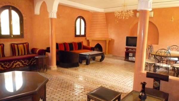 Villa à vendre complexe immobilier Marrakech Palmeraie
