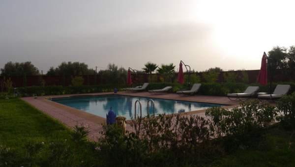 Vente villa Contemporain Marrakech Extérieur Route Fes