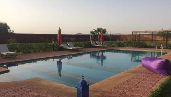 villa vente Contemporain Marrakech Extérieur Route Fes