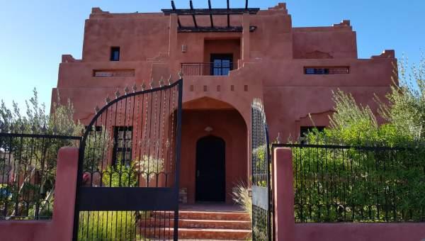 Achat villa Marocain épuré Marrakech Palmeraie Circuit Palmeraie