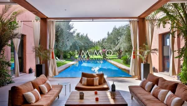 Achat villa Contemporain Marrakech Extérieur Route Ouarzazate