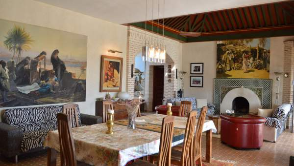 Maison à vendre Marocain épuré Marrakech Extérieur Route Ourika