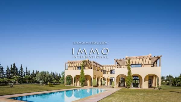 villa achat Marocain immobilier de luxe marrakech Marrakech Extérieur Route Amizmiz