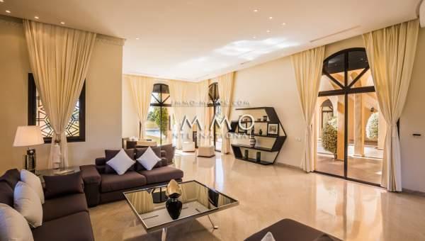 villa vente Marocain haut de gamme Marrakech Extérieur Route Amizmiz