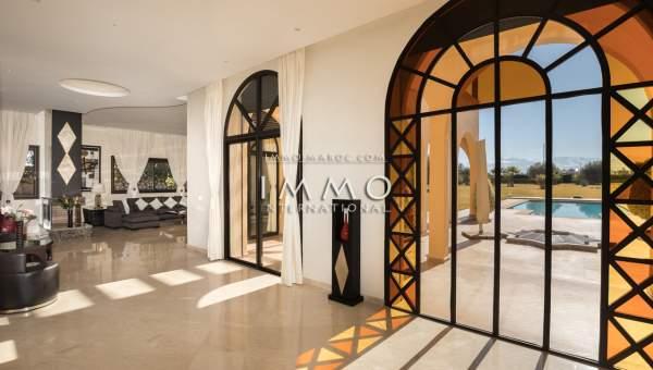 acheter maison Marocain prestige Marrakech Extérieur Route Amizmiz