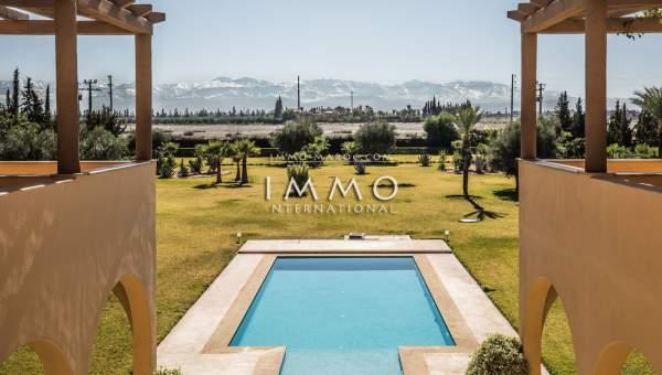 Villa à vendre Marocain Marrakech Extérieur Route Amizmiz