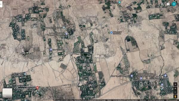 Vente terrain Terrain villa Marrakech Palmeraie Bab Atlas